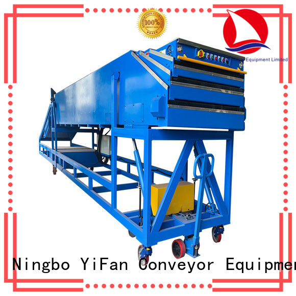 unloading conveyor 20ft with bottom price for harbor