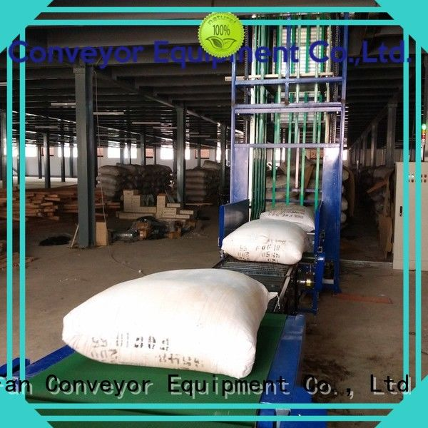 factory price lifting conveyor Type C widely use for airport
