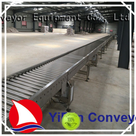 YiFan powered roller conveyor manufacturer for material handling sorting