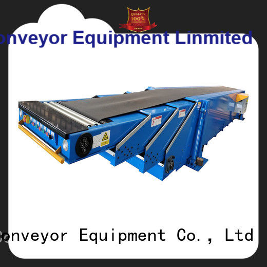 high performance transport conveyor container for seaport