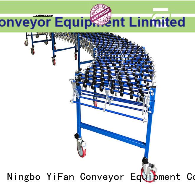 plastic material handling conveyor top brand for workshop YiFan