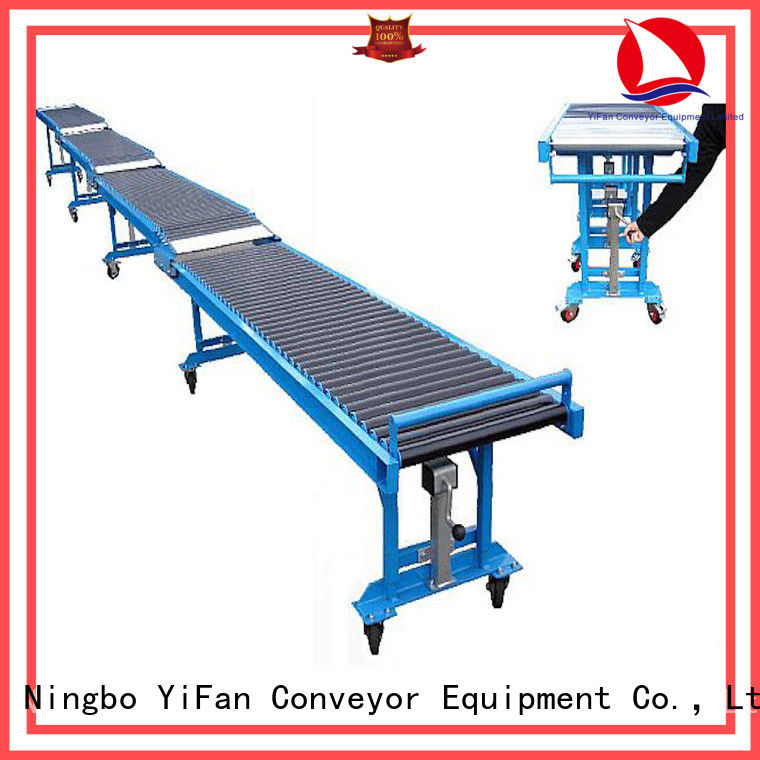 YiFan best selling conveyor systems request for quote for mineral