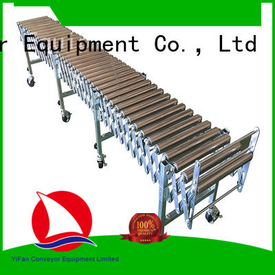 long-lasting durability flexible gravity roller conveyor pvc factory price for warehouse logistics