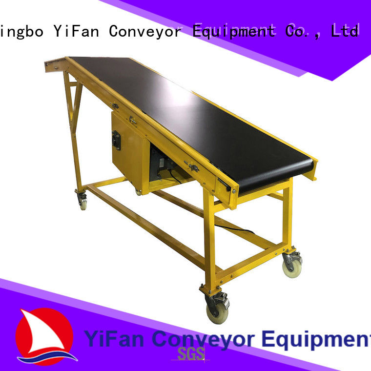 2019 new loading unloading conveyor system unloading China supplier for warehouse