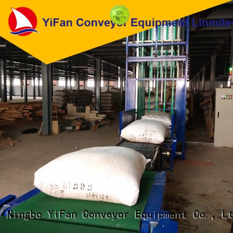 YiFan top quality vertical lift conveyor widely use for storehouse