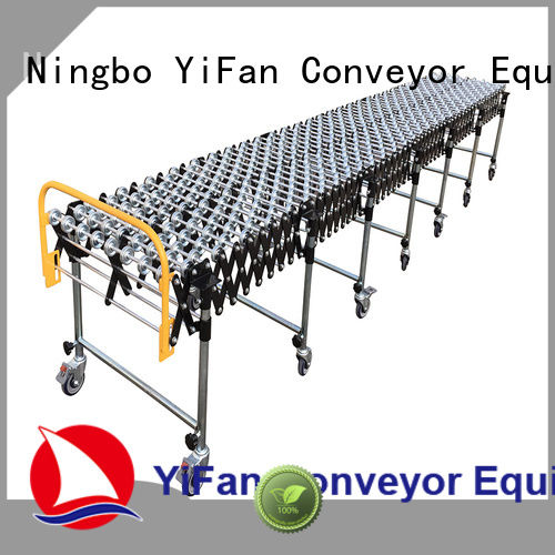 YiFan professional gravity skate wheel conveyor with long service for warehouse