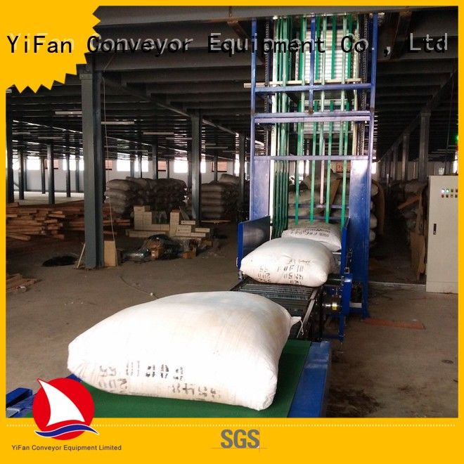 vertical lifting conveyor conveyor widely use for dock