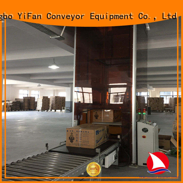YiFan top quality vertical lifting conveyor directly sale for storehouse