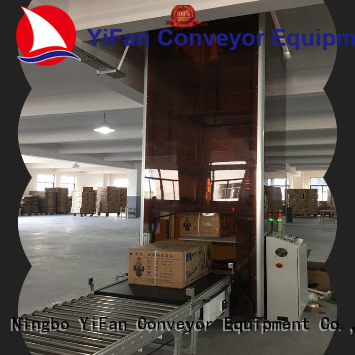 YiFan vertical pallet lift Chinese manufacture for airport