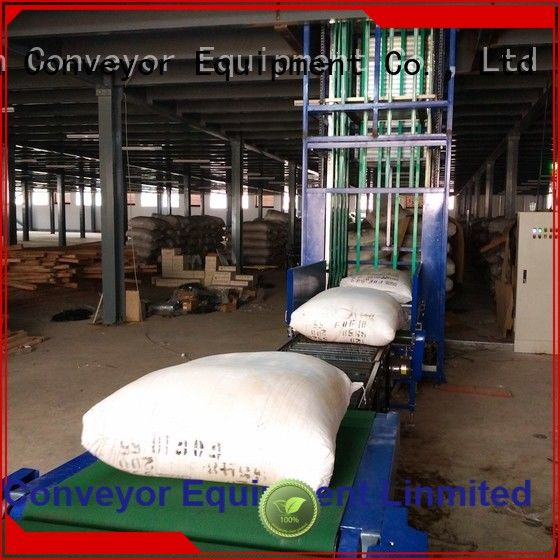 best quality lifting conveyor Type C China supplier for harbor