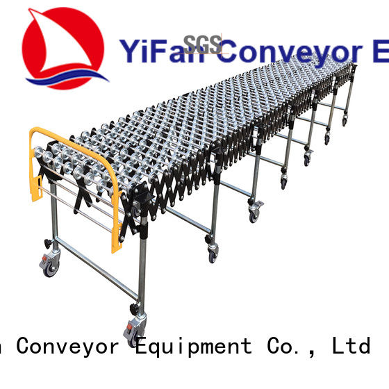 YiFan tracking skate conveyor systems online for dock