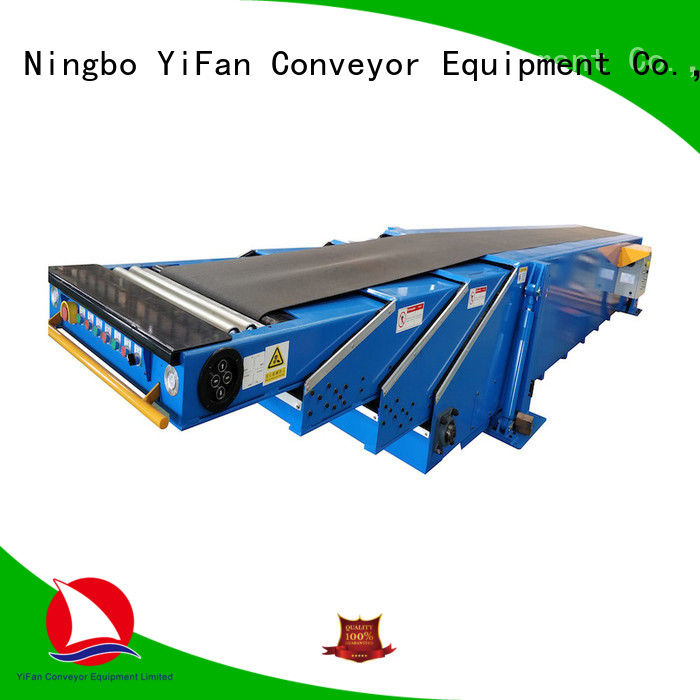 YiFan container conveyor system manufacturers for harbor