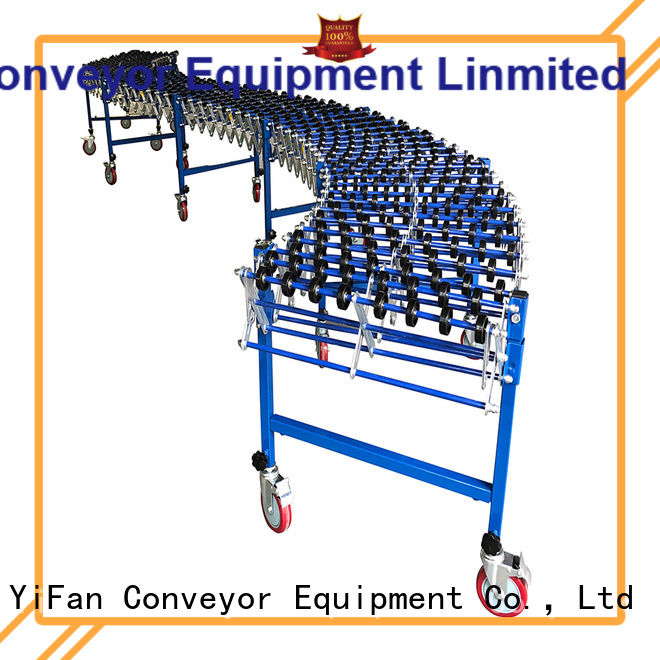 YiFan high performance flexible skate wheel conveyor popular for factory