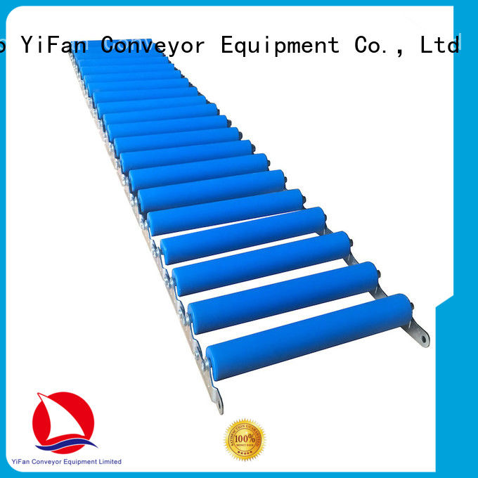 YiFan steel roller conveyor system supplier for industry