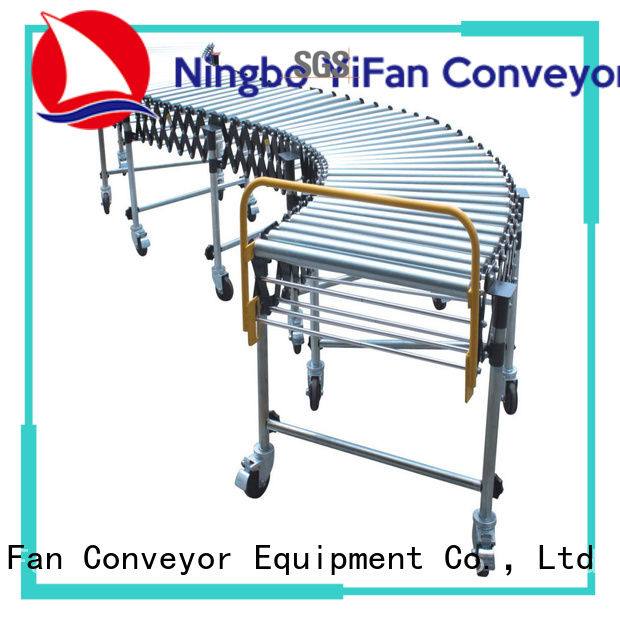 YiFan 5 star services flexible roller conveyor supplier for industry