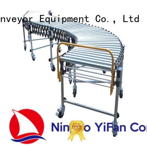 YiFan 5 star services warehouse conveyor factory price for warehouse logistics