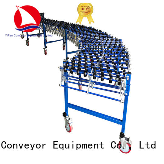 YiFan conveyor skate wheel conveyor popular for storehouse