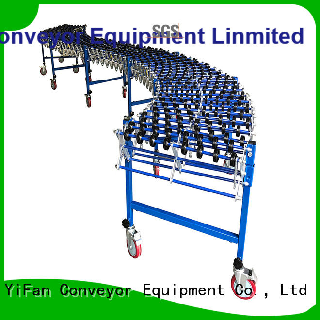 YiFan steel skate wheel conveyor competitive price for storehouse