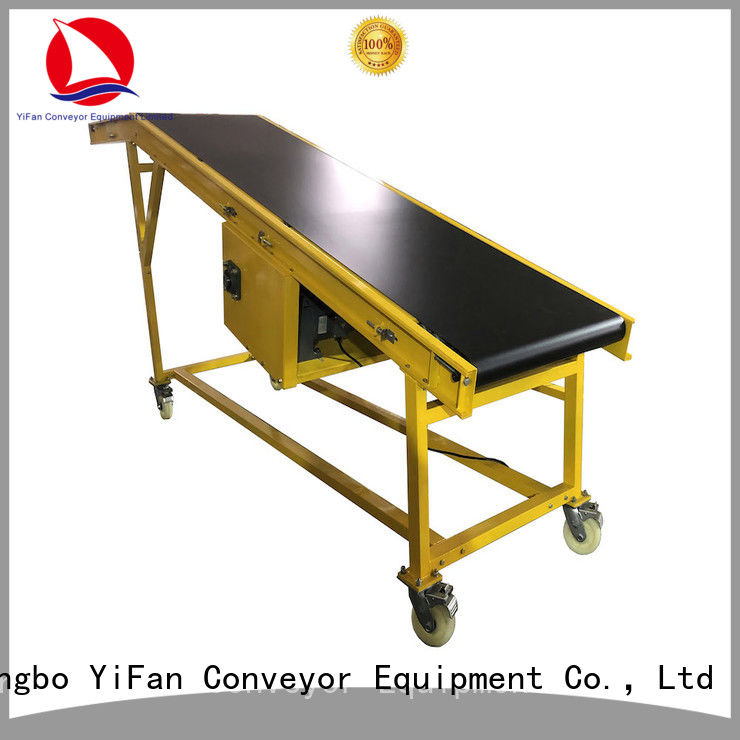 YiFan van truck loading unloading conveyor online for factory