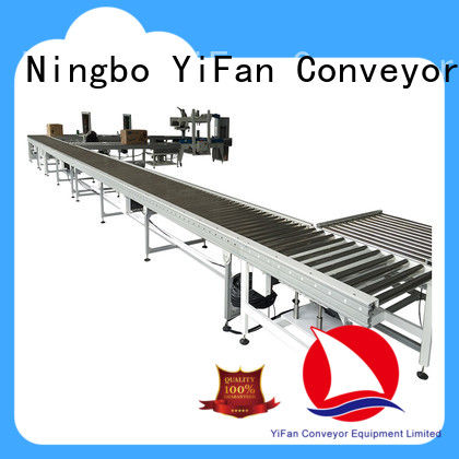 YiFan powered conveyor belt rollers suppliers manufacturer for warehouse