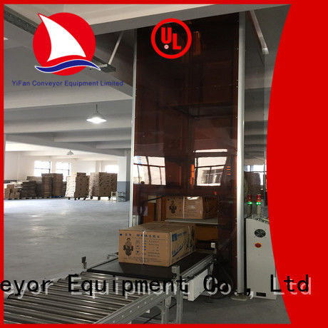 vertical pallet lift Type Z China supplier for warehouse