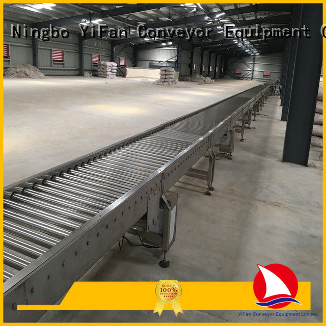 YiFan steel roller conveyor manufacturer from China for industry