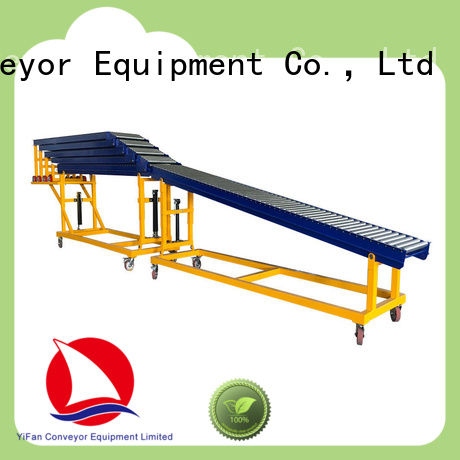 YiFan best selling telescopic roller conveyor china manufacturing for storehouse