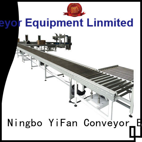 YiFan stainless roller conveyor suppliers source now for material handling sorting