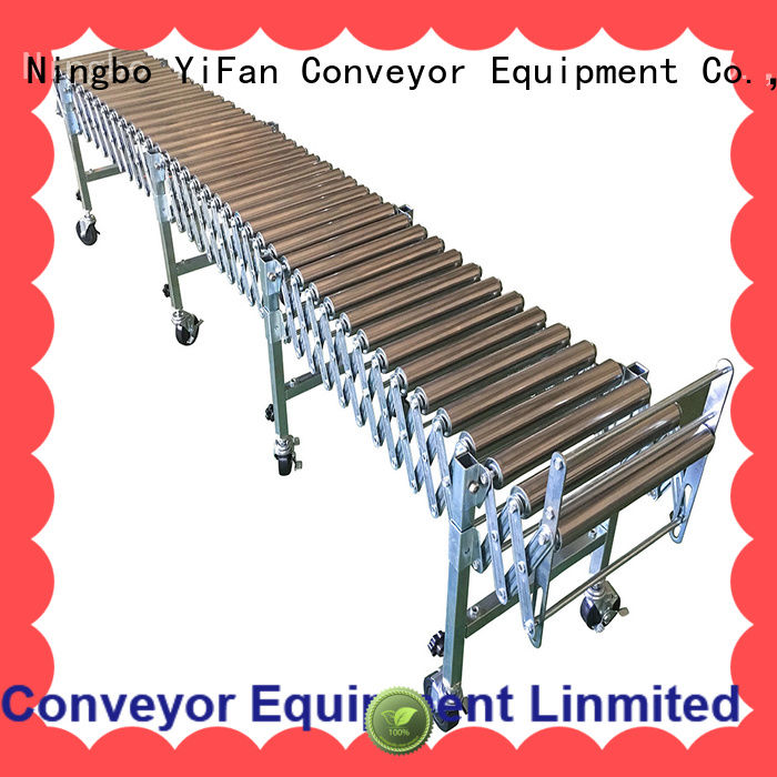 5 star services expandable conveyor steel factory price for warehouse logistics