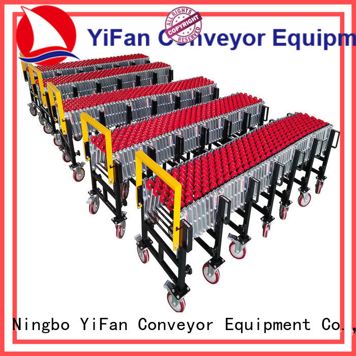 YiFan wheel gravity wheel conveyor competitive price for storehouse