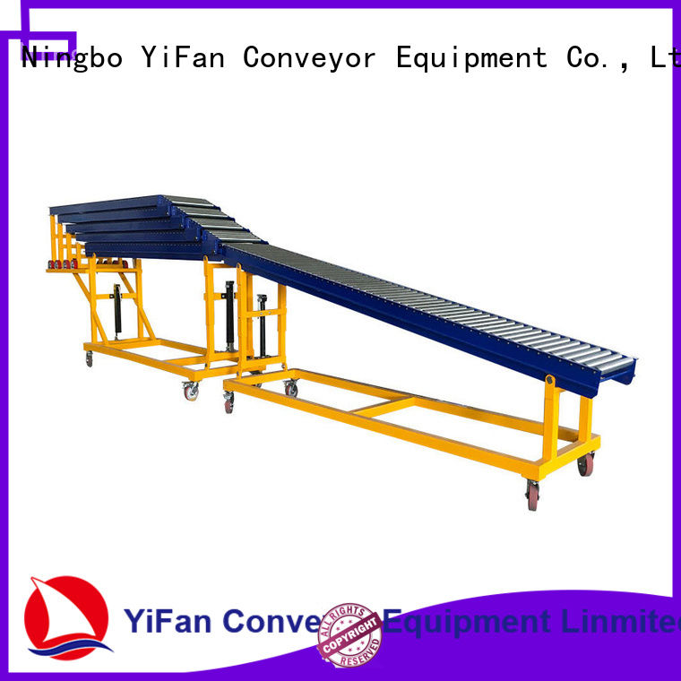 YiFan container gravity conveyor export worldwide for mineral