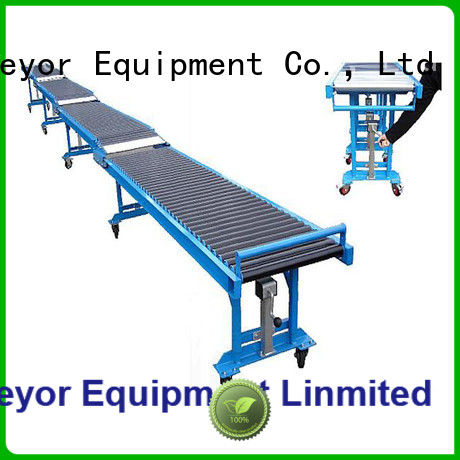 competitive price telescopic roller conveyor container china manufacturing for harbor