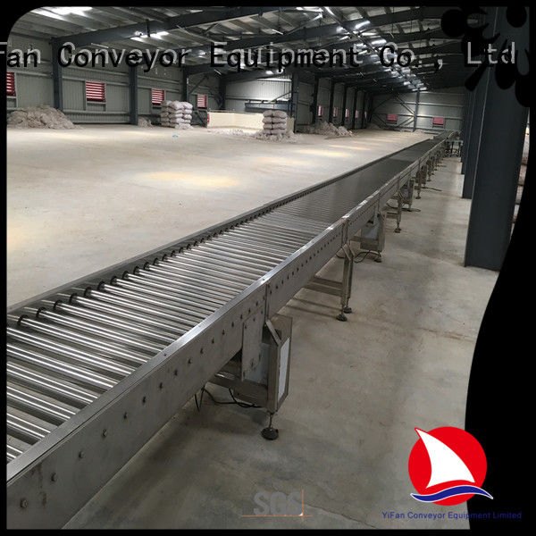YiFan warehouse conveyor roller manufacturers from China for factory