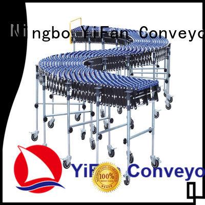 YiFan skate flexible skate wheel conveyor competitive price for workshop