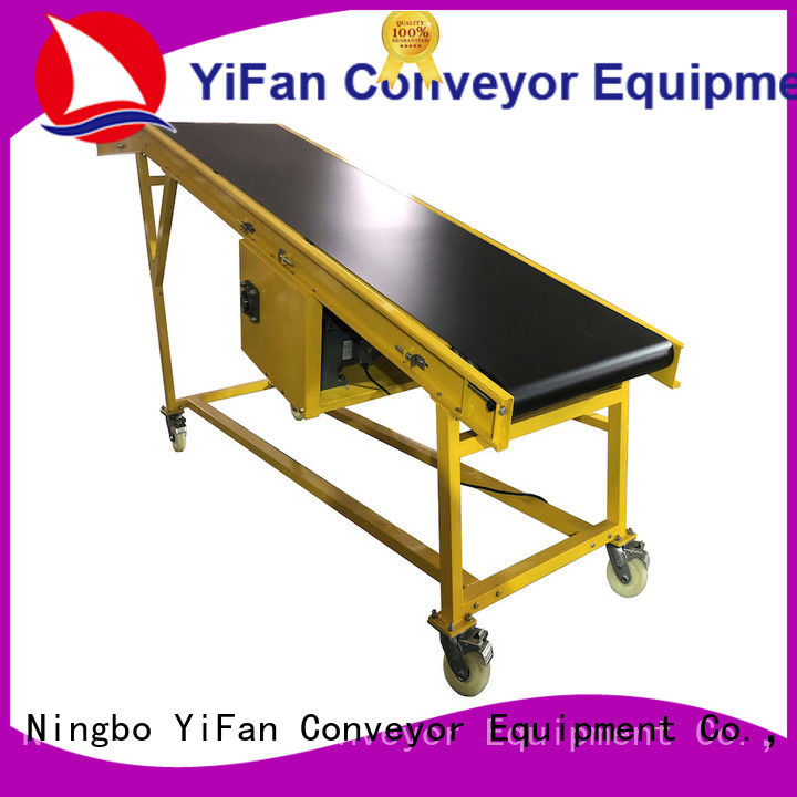 YiFan auto truck unloading conveyor manufacturer for airport