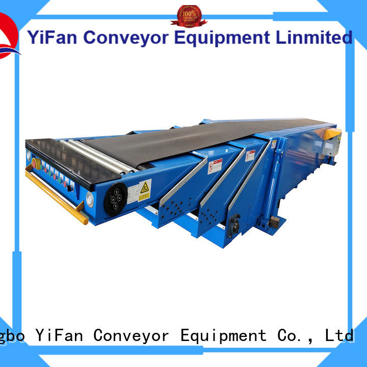 YiFan conveyor belting widely use for warehouse