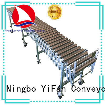 YiFan stainless expandable conveyor for-sale for warehouse logistics