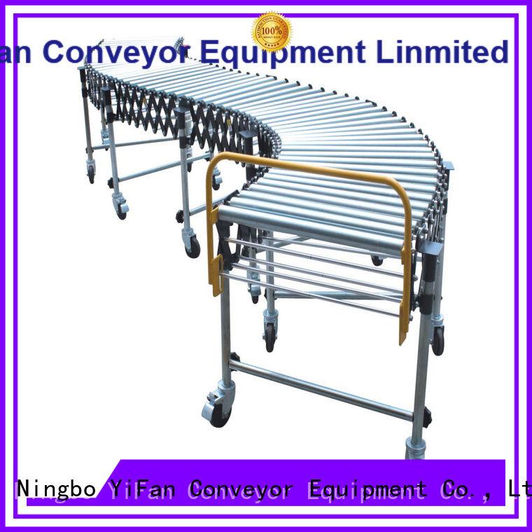 YiFan conveyor gravity roller conveyor for-sale for warehouse logistics