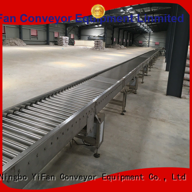 YiFan powered roller conveyor manufacturer manufacturer for industry
