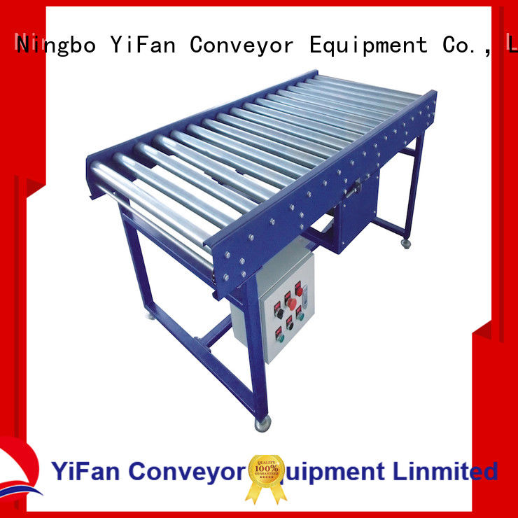 YiFan curve roller conveyor suppliers source now for workshop