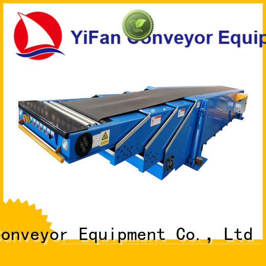 YiFan latest container loading equipment widely use for warehouse
