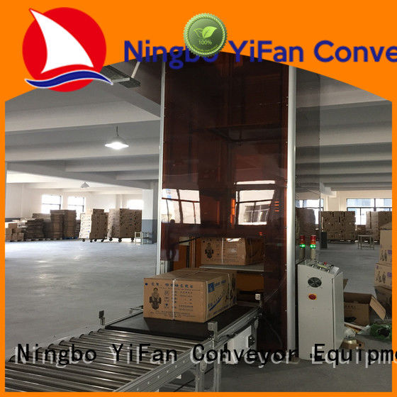YiFan top quality lifting conveyor directly sale for dock