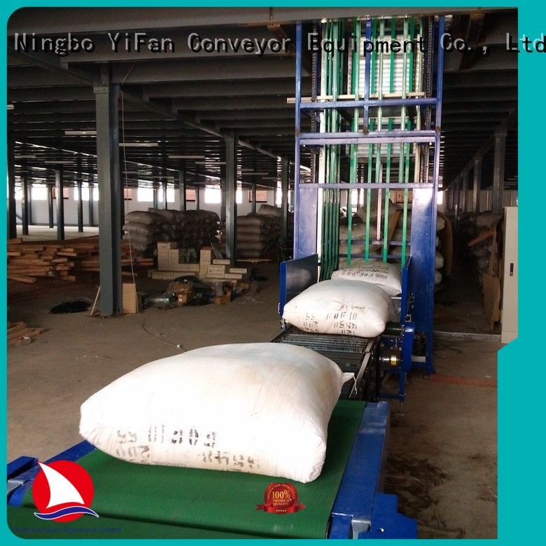 lifting conveyor continuous for workshop