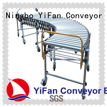 YiFan long-lasting durability flexible roller conveyor with good price for industry