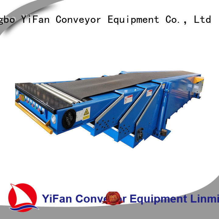 YiFan shop transport conveyor with bottom price for seaport
