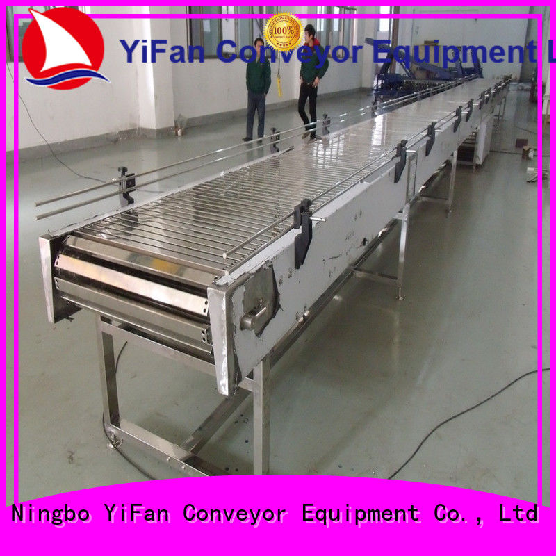 YiFan durable top chain conveyor request for quote for medicine industry