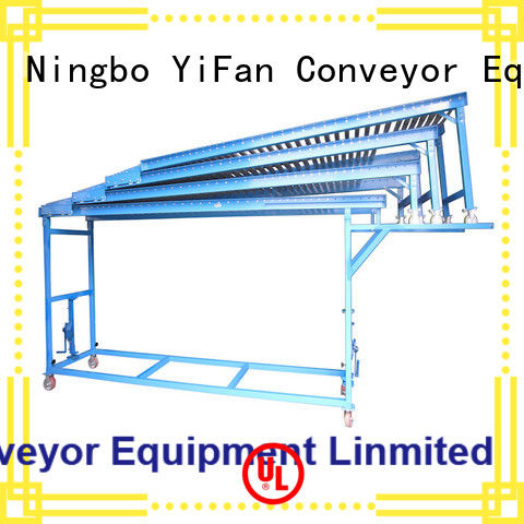reliable quality powered roller conveyor system sizes factory price for harbor