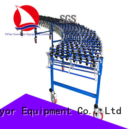 YiFan wheel conveyor equipment top brand for workshop