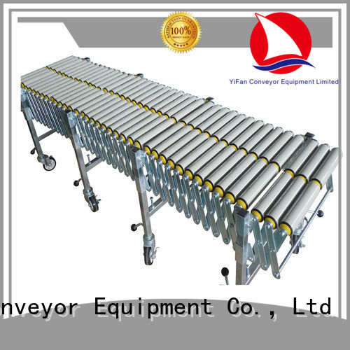 YiFan long-lasting durability expandable conveyor supplier for industry