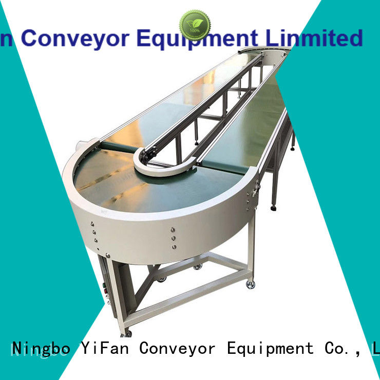 YiFan china manufacturing magnetic belt conveyor manufacturers for logistics filed